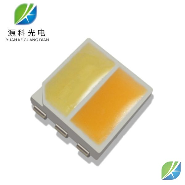 SMD 5050 LED Bi-color 1W led chip