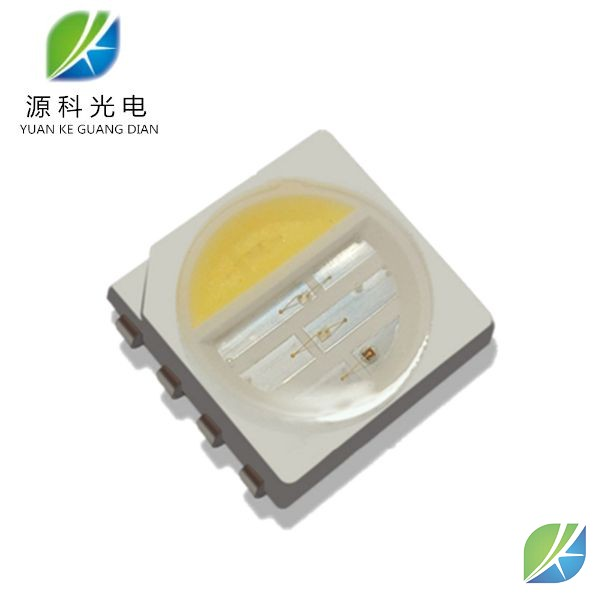 SMD 5050 LED RGB+Warm white 0.2w chip