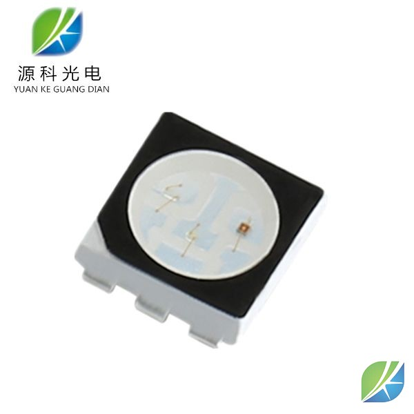 SMD 5050 LED Black surface RGB chip