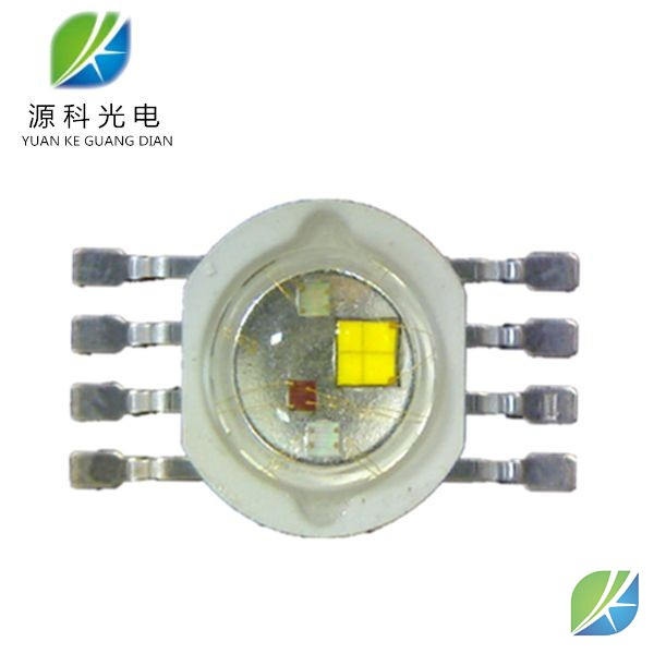 High power led 4W RGBW 8-PINS chip